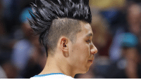"""Watchu need?"" Jeremy Lin: ""Gimme that dead crow cut"""