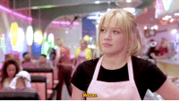 Ass, Cinderella , and Love: Water averagefairy: dasha-through-the-snow:   rdj: A Cinderella Story (2004) dir. Mark Rosman  A good steak has no sugar, carbs and very little fat. You could just offer that instead of being a snarky asshole and bring an ass to people who watch what they eat.   i love that this person has not seen a cinderalla story and having only seen this gifset without any context they came to the rational conclusion that this girl and her bf are just two innocent healthy patrons of a diner where the waitress refuses to serve them steak to healthshame them