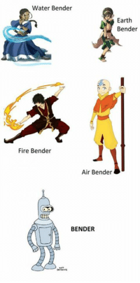 Water Bender: Water Bender  Earth  Bender  Fire Bender  Air Bender  BENDER