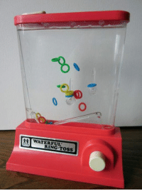 Did anybody else play this all the time as a kid?: WATER FUL  RING TOSS Did anybody else play this all the time as a kid?