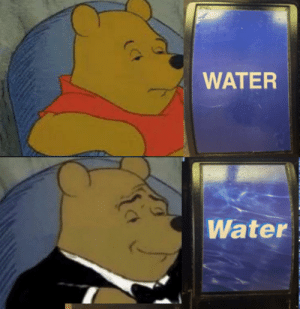 Water, Hell, and Drug: WATER  Water dihydrogen monoxide is one hell of a drug