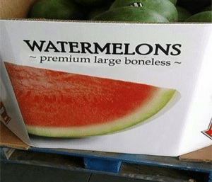 boneless: WATERMELONS  premium large boneless