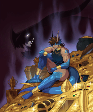 drakdrawings:  Just a dragon with her hoard.: WAVA  eece drakdrawings:  Just a dragon with her hoard.