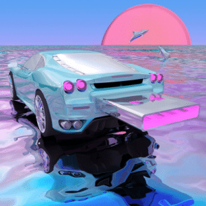 Drive, Album Art, and Single: Wave Racers album art for his single, Flash Drive