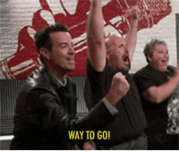 """Gif, Target, and Tumblr: WAY TO GO! <p>Excited to have Carson Daly on tonight&rsquo;s show!</p> <p>[<a href=""""http://31.media.tumblr.com/tumblr_mba59kSGzm1ri5hrfo1_400.gif"""" target=""""_blank"""">via</a>]</p>"""