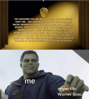 WB has my respect by actuallyyourfloor MORE MEMES: WB has my respect by actuallyyourfloor MORE MEMES