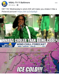 Giphy besides Kvumjt likewise F k R as well Img together with Thumb Wbal Tv Baltimore Mins Wbaltv Hey Ya Wednesdays Wind. on whats cooler than being cool ice cold