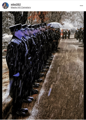 We buried one of Huntsvilles Finest Today that was gone too soon.His father was slain in 1978 while on duty. When will we quit killing each other including the ones that are put in place to protect us? End of Watch Dec 7th, 2019: wbp262  Maple Hill Cemetery  RIC We buried one of Huntsvilles Finest Today that was gone too soon.His father was slain in 1978 while on duty. When will we quit killing each other including the ones that are put in place to protect us? End of Watch Dec 7th, 2019