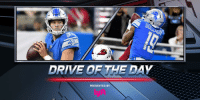 Another 4th Quarter comeback for the @Lions!  Drive of the Day, pres. by @lyft: https://t.co/Qqf1NUAIHz https://t.co/LZVqzDAZcH: WCF  DRIVE OR THE DAY  PRESENTED BY Another 4th Quarter comeback for the @Lions!  Drive of the Day, pres. by @lyft: https://t.co/Qqf1NUAIHz https://t.co/LZVqzDAZcH