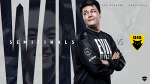 We're bringing Evil to the finals! 😈  Our #LCS Academy team takes the series 3-1 and boots @dignitas out of the playoffs! #LIVEEVIL https://t.co/D5sEmsYFXv: We're bringing Evil to the finals! 😈  Our #LCS Academy team takes the series 3-1 and boots @dignitas out of the playoffs! #LIVEEVIL https://t.co/D5sEmsYFXv