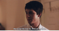 Love, Http, and Net: We accept the love we think we deserve http://iglovequotes.net/