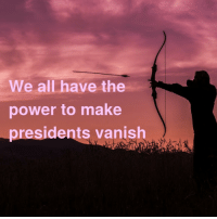 Fucking, Taken, and Target: We all have the  power to make  presidents vanish dr-bebber: maxiesatanofficial:  inspirobot is gonna get taken out by the secret service  Inspirobot did it… they fucking did it….