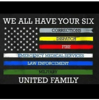 Family, Fire, and Friends: WE ALL HAVE YOUR SIX  *x***x*CS  CORRECTION  FIRE  EMERGENCY MEDICAL SERVICES  LAW ENFORCEMENT  UNITED FAMILY Agree? Comment your love below - - ❎ DOUBLE TAP pic 🚹 TAG your friends 🆘 DM your Pics-Vids 📡 Check My IG Stories 💥Check the link in Bio 👉@veterancollection 🔥Follow us @veterancollection - (Repost @veteranownedworld) 🇺🇸🇺🇸🇺🇸🇺🇸🇺🇸🇺🇸🇺🇸🇺🇸 - usarmy armylife usnavyseal navylife militarylife militarylove usmilitaryacademy navylife usmilitary usarmyveteran veterans supportthetroops supportourveterans usnavy USMC USCG usmarines armedforces semperfi usairforcepride usairforce hooah Oorah armystrong infantry activeduty supportourtroops usarmedforces