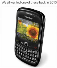 I remember when these were popular like it was yesterday: We all wanted one of these back in 2010  BlackBerry I remember when these were popular like it was yesterday