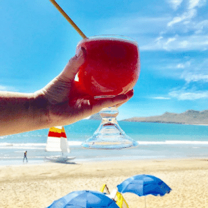 We are dealing with a NEVER ENDING winter situation over here... and we know it's Wine Wednesday but we just had to cheer ourselves up with this tropical picture🍹🏝 #bringonspring #inneedofsun #beachdrinks #gettinsaucy #wine #winewednesday #isitsummeryet #winterblues #overitalready: We are dealing with a NEVER ENDING winter situation over here... and we know it's Wine Wednesday but we just had to cheer ourselves up with this tropical picture🍹🏝 #bringonspring #inneedofsun #beachdrinks #gettinsaucy #wine #winewednesday #isitsummeryet #winterblues #overitalready