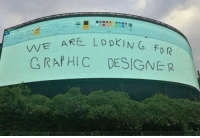 Looking, For, and Graphic Designer: WE ARE LDDKING  C RAPHIC DESIGNER We are looking for graphic designer