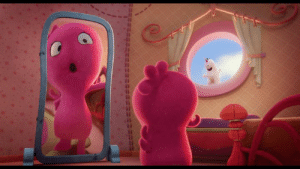 """Beautiful, Memes, and Pitbull: We are so thrilled to debut this EXCLUSIVE (and totally beautiful) clip from """"Uglydolls"""" (starring Kelly Clarkson, Nick Jonas, Janelle Monáe, Blake Shelton and Pitbull), out everywhere May 3rd!"""