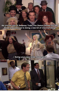 sweeney todd the office