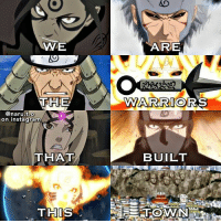 "Instagram, Love, and Memes: WE  ARE  THE  WARRIORS  @naru.t.o  on instagram  2  THAT  BUILT  THIS Konoha's Legendary Hokages🍃🙌 ~~please don't repost-copy without credit!~~ • Q: Favorite Hokage(s)? Answer below!⬇️ • Edit inspired by @ka.kashi💫 • Lyrics on edit from the song ""Warriors"" by Imagine Dragons • I've actually been dying to post this for the longest time & I really love this idea so I was sooo excited to recreate it!😍 Also since I'm only about 60 followers away from 30k I wanted to post something special before hitting that goal😭🙌💞 Expect another special edit tomorrow to celebrate 30k!!😁🎊👏"