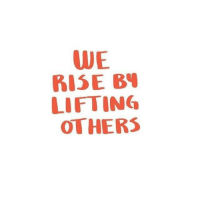 Lifting and  Others: WE  BISE B  LIFTING  OTHERS