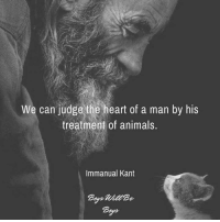 "George Carlin, Memes, and 🤖: We can judge the heart of a man by his  treatment of animals  Immanual Kant ""Meow"" means ""woof"" in cat.""  ― George Carlin  Pantheism: Everything is Connected, Everything is Divine  www.pantheism.com Facebook Group: www.facebook.com/groups/pantheism"