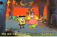"""Dank, Meme, and Http: We did it Mohammad!We saved Our Religion! <p>For Neptune (by Sordiax ) via /r/dank_meme <a href=""""http://ift.tt/2smx2zW"""">http://ift.tt/2smx2zW</a></p>"""