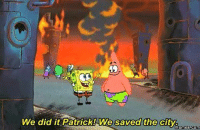 Meanwhile at Baltimore: We did it Patrick! We saved the city  memes COM Meanwhile at Baltimore