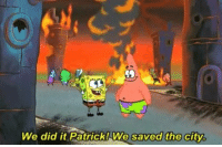The Middle, Middle East, and City: We did it Patrick!We  saved the city, Whenever the US tries to intervene in the Middle East: https://t.co/fD26G1lcln