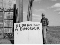 <p>Meanwhile in a Parallel Universe.</p>: WE DO Not HAVE  | A DINOSAUR <p>Meanwhile in a Parallel Universe.</p>