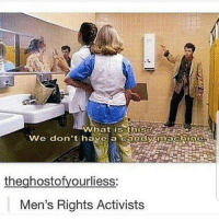 Candy, Memes, and Mens Rights: We don't have a candy machine  theahostofvourliess:  Men's Rights Activists But where's the lie