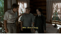 Family, Addams Family, and Hug: We don't hug Addams Family Values (1993)