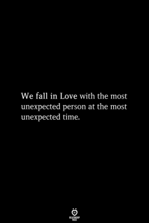 Fall, Love, and Time: We fall in Love with the most  unexpected person at the most  unexpected time.