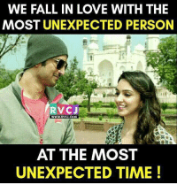 Unexpected time...😍👫🕛 rvcjinsta: WE FALL IN LOVE WITH THE  MOST UNEXPECTED PERSON  RVC J  WWW. RVCJ.COM  AT THE MOST  UNEXPECTED TIME! Unexpected time...😍👫🕛 rvcjinsta