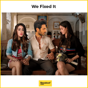 Love, Memes, and 🤖: We Fixed It  ERL N  SC  Bewakoof  .com The love triangle that makes more sense.