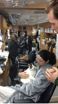 We got a behind the scenes look on the Outlander set! Looks like Sam Heughan has a special message about his and Caitriona Balfe's wherabouts in March. (Hint: #ECCC) http://bit.ly/2e857tD: We got a behind the scenes look on the Outlander set! Looks like Sam Heughan has a special message about his and Caitriona Balfe's wherabouts in March. (Hint: #ECCC) http://bit.ly/2e857tD