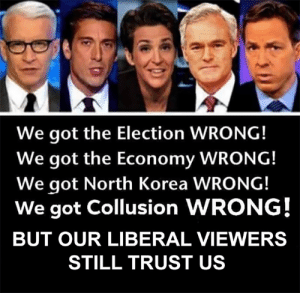 Click, cnn.com, and Memes: We got the Election WRONG!  We got the Economy WRONG!  We got North Korea WRONG!  We got Collusion WRONG!  BUT OUR LIBERAL VIEWERS  STILL TRUST US You have to wonder how CNN and MSNBC still have ANY viewers left?  There Is PANIC In The Diabetes Industry! Big Pharma executives can't believe their eyes. SEE WHY CLICK HERE ►► http://u-read.org/no-diabetes
