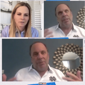 """""""We got two commitments by way of Zoom.""""   @NDMikeBrey sat down with @ShannonSpake to discuss how @NDmbb has handled recruiting this offseason https://t.co/2ZZgltZxur: """"We got two commitments by way of Zoom.""""   @NDMikeBrey sat down with @ShannonSpake to discuss how @NDmbb has handled recruiting this offseason https://t.co/2ZZgltZxur"""