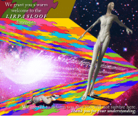 """Reddit, Thank You, and Sad: We grant you a warm  welcome to the  LIRPA SLOOF  dimension.  are sad to inform you that you will not survive here.  Thank you for your understanding. <p>[<a href=""""https://www.reddit.com/r/surrealmemes/comments/88ofnx/you_%F0%9D%93%88%F0%9D%93%81%F0%9D%91%9C%F0%9D%91%9C%F0%9D%90%B9/"""">Src</a>]</p>"""