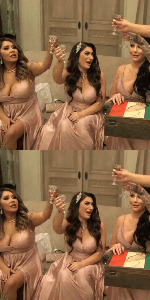 We have a situation at Angeliners wedding 👀 Don't miss an all new episode of #JSFamilyVacation TONIGHT 8/7c only on @mtv ☝🏼 https://t.co/f1M7pRMvmn: We have a situation at Angeliners wedding 👀 Don't miss an all new episode of #JSFamilyVacation TONIGHT 8/7c only on @mtv ☝🏼 https://t.co/f1M7pRMvmn