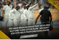 Virat Kohli indirectly trolls Steve Smith: WE HAVE BEEN INCONSISTENT WITH DRS  BUTONE THING IS FOR WE DON'T  ASK FOR HELP FROM DRESSING ROOM  VIRATKOHLI Virat Kohli indirectly trolls Steve Smith