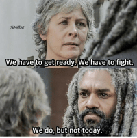 Do you guys like Carol? 👀 twd thewalkingdead: We have  to get ready. We have to fight  We do, but not today. Do you guys like Carol? 👀 twd thewalkingdead