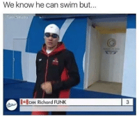 Memes, Tank, and Sinatra: We know he can swim but.  Tank Sinatra  CAN Richard FUNK Can he? via /r/memes https://ift.tt/2rwYpWE