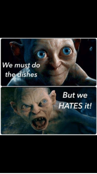 Fuckin stupid fuckin dishes.  Fuck.: We must do  the dishes  But we  ATES it! Fuckin stupid fuckin dishes.  Fuck.