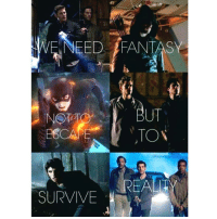 OMGOMGOMGOMGOMG SOME OF MY SHOWS ARE ON THIS SUPERNATURAL TEEN WOLF THE FLASH ARROW: WE NEED FANTASY  TON  REAL  SURVIVE OMGOMGOMGOMGOMG SOME OF MY SHOWS ARE ON THIS SUPERNATURAL TEEN WOLF THE FLASH ARROW