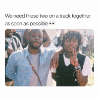 Friends, Memes, and Soon...: We need these two on a track together  as soon as possible Would y'all want jid and isaiahrashad on a track together⁉️ Follow @bars for more ➡️ DM 5 FRIENDS