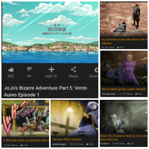 Italian fetish: We never had any intention of  forgiving you in the first place  WSCk& tv925)  Big schoolboy fucks little bitch in the m  Pakistan  26.2K Views  97%  Down  Add To  Share  44  592  JoJo's Bizarre Adventure Part 5: Vento  Blond Italian giving a public blowjob  Aureo Episode 1  Somepotato 12.7K Views  96%  Crash  H  н  A true Übermensch!  Italian Teen Fucked to Death by Aztec Mar  Rock Hard Cock  German officer unloads  2 Old man fucks young black lady o  Favoloso  33.4K Views  68%  speedwagon 20.7K Views  98%  12.3K Views  94% Italian fetish