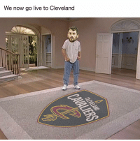 Nba, Cbssports, and Cleveland: We now go live to Cleveland  @cBSSports HAHAHAHAHAHA