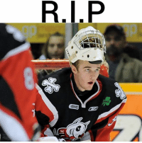 Indianapolis Colts, Friday, and Memes: We regret to announce the passing of John Chartrand at the age of 24 due to injuries sustained in an automobile accident on the 401 Friday. Chartrand played four seasons in the OHL with the Niagara IceDogs, Barre Colts and Belleville Bulls.