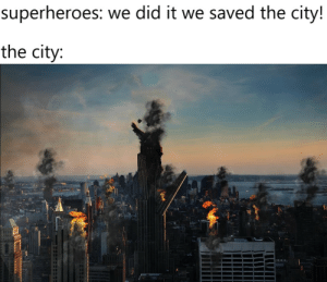 we saved the city!: we saved the city!