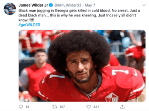 We Should all Take a Knee Next Time We Hear the National Anthem (via /r/BlackPeopleTwitter): We Should all Take a Knee Next Time We Hear the National Anthem (via /r/BlackPeopleTwitter)